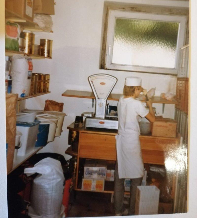 Beginn der Bäckerlehre 1985 - 1988
